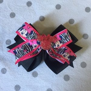 Other - Minnie Mouse Boutique Hair Bow